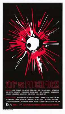 KII ARENS signed & numbered art print (from ATP vs Pitchfork festival, UK 2008)