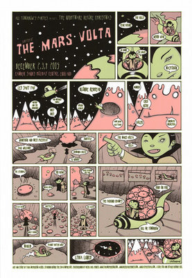ATP curated by The Mars Volta poster (Tara McPherson)