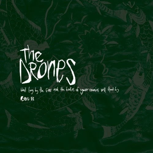 THE DRONES 'Wait Long By The River And The Bodies Of Your Enemies Will Float By' CD