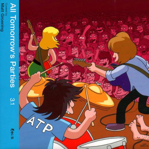 VARIOUS 'ATP 3.1 (curated by Matt Groening)' CD