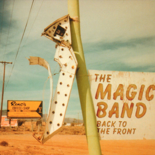 THE MAGIC BAND 'Back To Front' CD