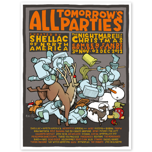 ATP curated by Shellac (art print)