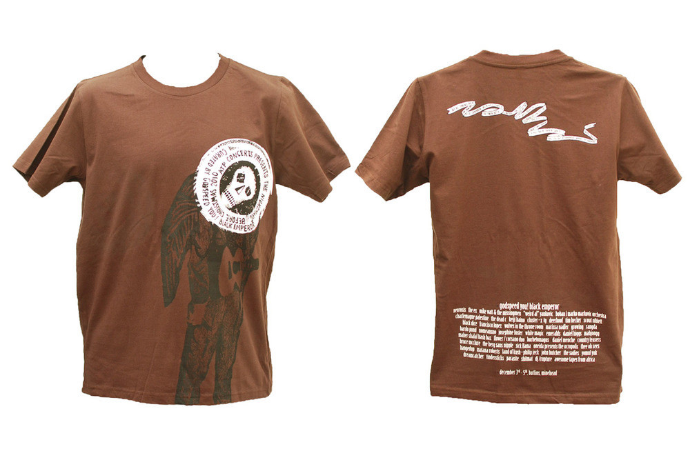 ATP curated by Godspeed You! Black Emperor (t-shirt)