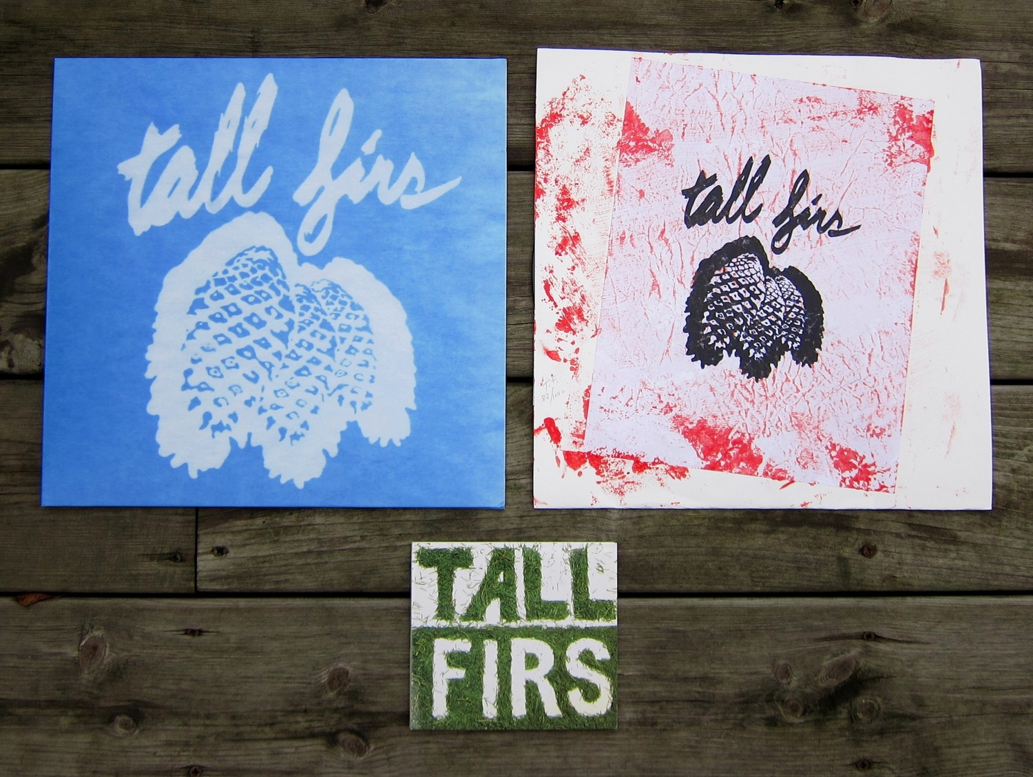 TALL FIRS 2x LP / 1x CD multi-buy offer!