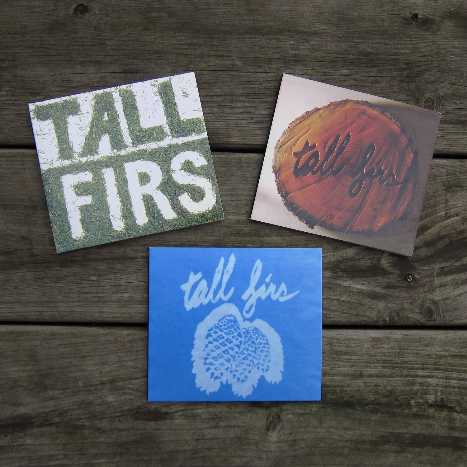 TALL FIRS 3x CD multi-buy offer!