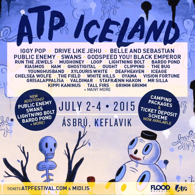 ATP ICELAND 2015 - Tickets