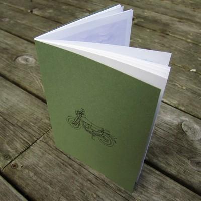 HEBRONIX 'Motor Manual' - 32 page book of original artworks by Daniel Blumberg