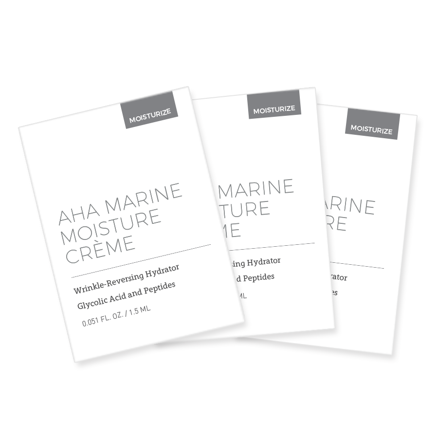 AHA Marine Moisture Crème - 3 Sample 00010