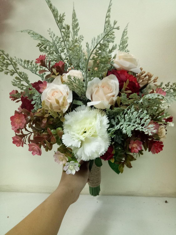 wedding flowers bridal bouquets Handmade Artificial bouquet 26