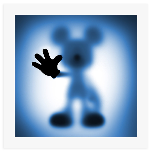 /* SOLD OUT */Gone Mickey Blue - 60 x 60 cm fine art giclee print