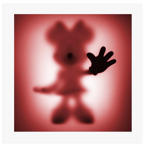 Gone Minnie Red - 60 x 60 cm fine art giclee print