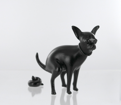 Small Puppy - Black  SOLD OUT