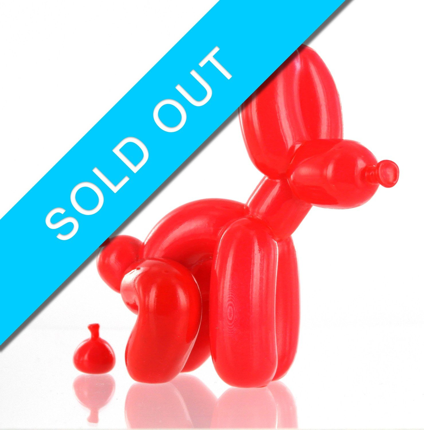 POPEK Red Small (12 cm)  SOLD OUT