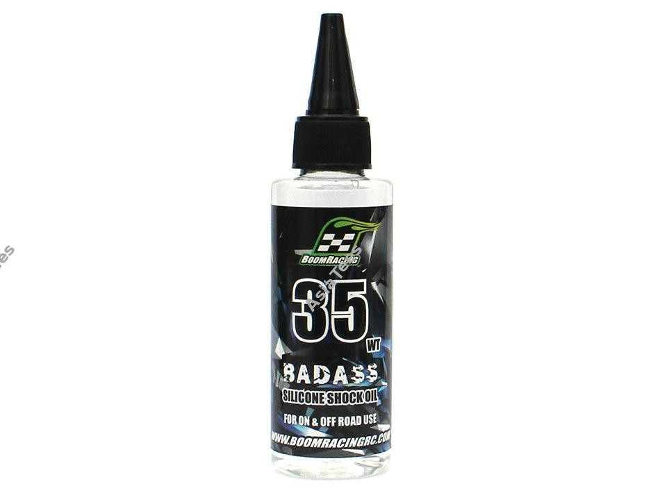 Boom Racing BADASS Silicone Shock Oil 35wt 60ml