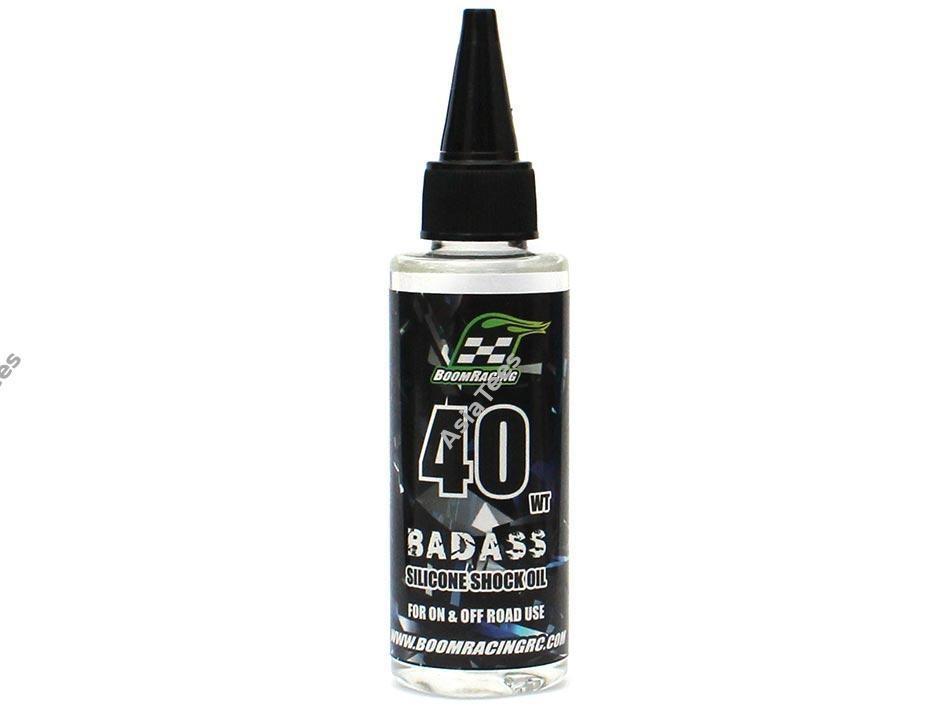 Boom Racing BADASS Silicone Shock Oil 40wt 60ml