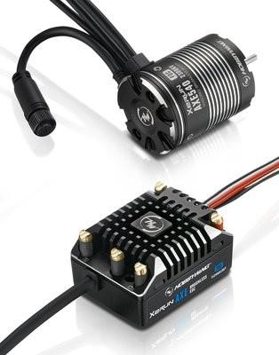 Hobbywing XeRun AXE ESC FOC System, Combo w/ AXE540 Motor 2300kv