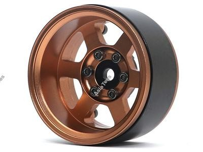 Boom Racing TE37XD KRAIT™ 1.9 Deep Dish Aluminum Beadlock Wheels w/ XT601 Hubs (4) Bronze