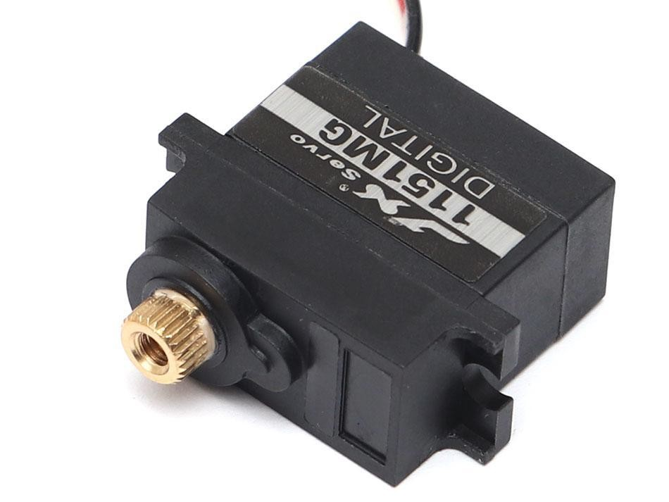 JX Servo Waterproof Core Metal Gear Mini Servo 3.6KG 0.1s @ 6.0V