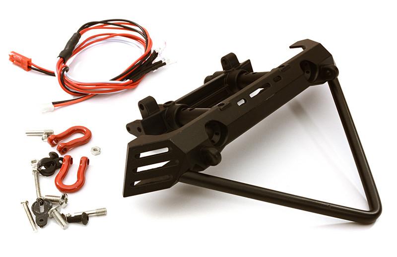Integy Front Metal Bumper w/ 40mm Mount for Axial SCX10 II OBM-018