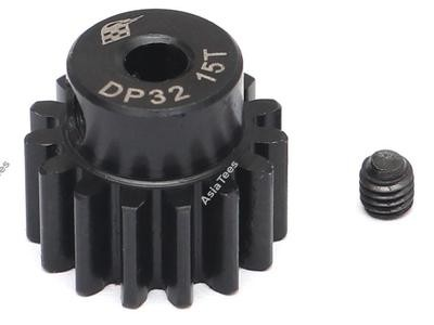 Boom Racing 32P 15T / 3.175mm Steel Pinion Gear - 1 Pc