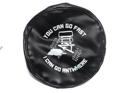 ATees Soft Faux Leather Tire Cover For 1.9 Crawler Tires - You Can Go Fast