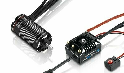 Hobbywing XeRun AXE ESC FOC System, Combo w/ AXE550 Motor 2700kv