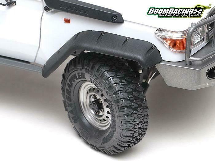 "Boom Racing 1.55"" MAXGRAPPLER Crawler Tire Gekko Compound 3.74""x1.18"" (95x30mm) Open Cell Foams (2)"
