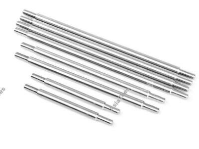 GRC Stainless Steel Link Kit for 313mm Wheelbase Chassis (8) for Traxxas TRX-4
