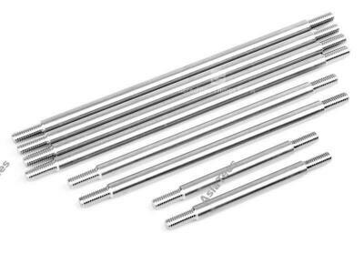 GRC Titanium Steel Link Kit for 324mm Wheelbase Chassi (8) for Traxxas TRX-4