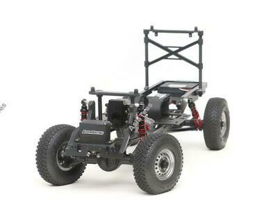 Boom Racing 1/10 4WD Radio Control Chassis Kit