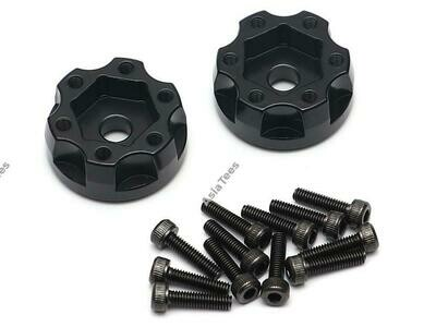 Boom Racing XT604 6-Lug Aluminum 12mm Wheel Hub Adapters 4MM Offset (2)