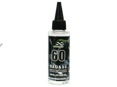 Boom Racing BADASS Silicone Shock Oil 60wt 60ml