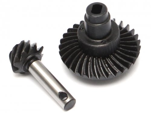 Boom Racing Heavy Duty Keyed Bevel Helical Gear 30/8T for Scx10.2 Axles
