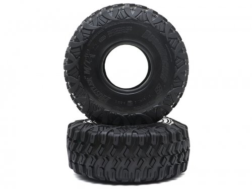 "Boom Racing HUSTLER M/T Xtreme 2.2"" RR Rock Racing Tires Snail Slime Compound w/ 2-Stage (Open/Closed) Foams 5.5""x2.0"" (139x51mm) Super Soft"