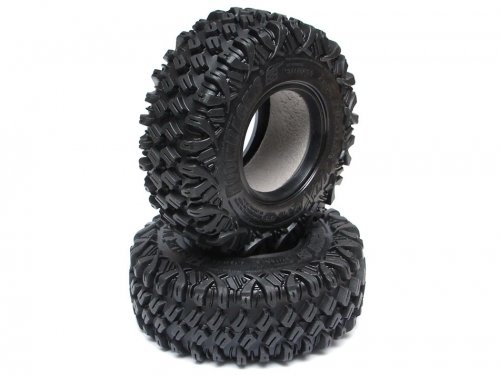 Boom Racing HUSTLER M/T Xtreme 1.9 MC1 Rock Crawling Tires 4.19x1.46 SNAIL SLIME™ Compound W/ 2-Stage Foams (Super Soft)