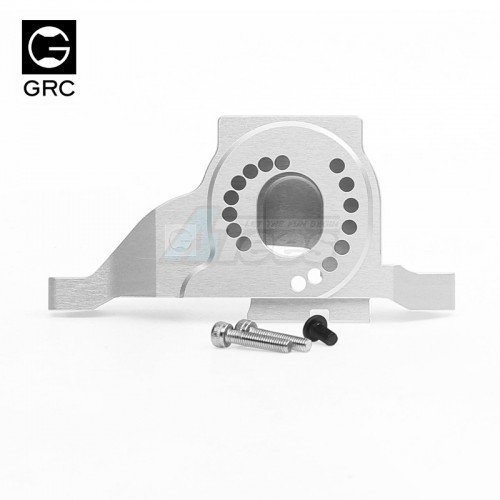 GRC Aluminum 7075 One-piece Design Motor Mount for TRX4 Silver for Traxxas TRX-4