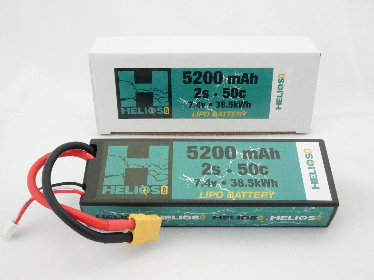 Helios R/C 2S 5200 mAh 50c Lipo (XT60)