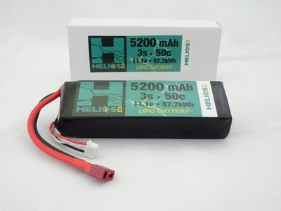 Helios R/C 3S 5200 mAh 50c Lipo