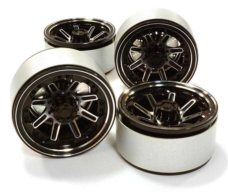 Integy 1.9 Size Billet Machined Alloy 8 Spoke Wheel(4)