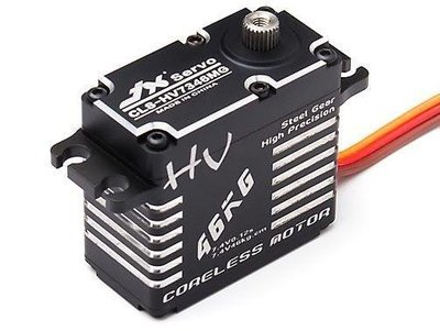 JX Servo Aluminum Case HV Corless Digital Steel Gear Servo 46 kg / 0.12 Sec @ 7.4V