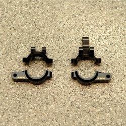 STRC CNC Machined Brass Front Lower Shock Mount/Panhard Mount (1 pair, 4 pcs) HPI Venture (BK)