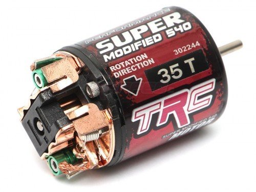 Team Raffee Co. TRC 540 Modified Brushed Motor 35T w/ Two Extra Brushes