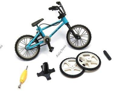 Team Raffee Co. Scale Accessories - BMX Bike w/ Spare Wheels Style A 1Pc Blue