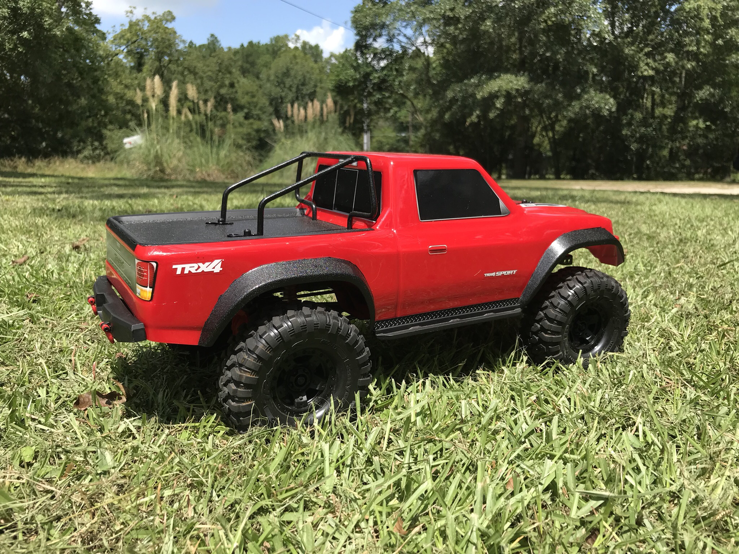 Custom Roll Bar for TRX-4 Sport Body