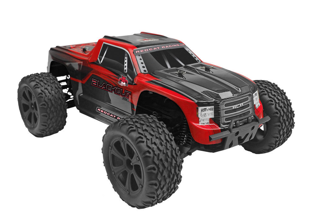 Redcat Racing Blackout XTE (Red Truck)