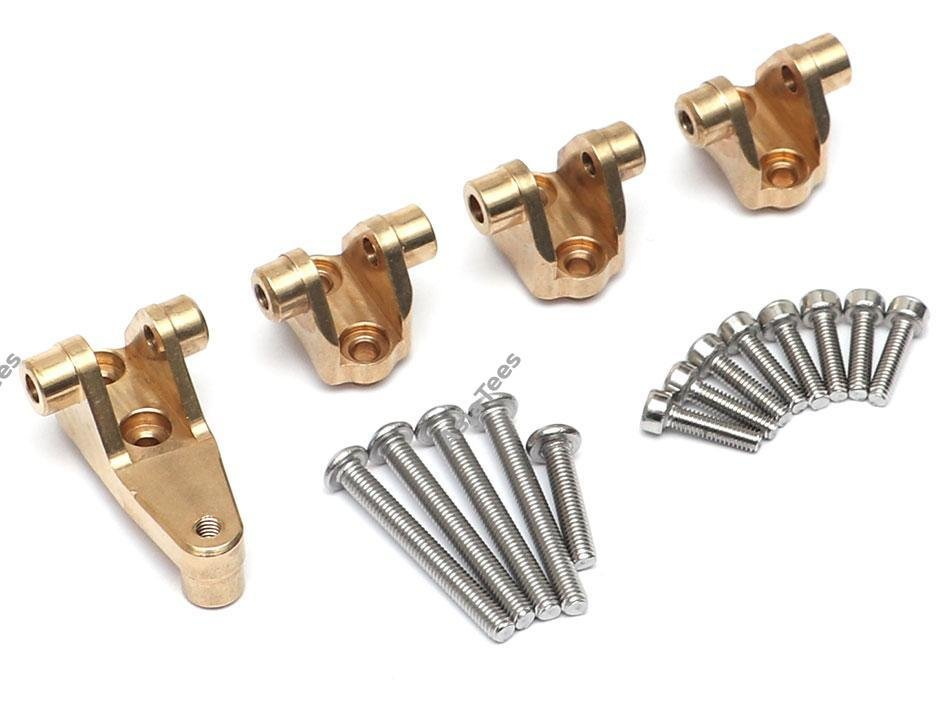 Team Raffee Co. Heavy Duty Brass Front & Rear Links Mount Set