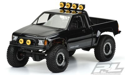 Proline 1985 Toyota HiLux SR5 Clear Body (Cab + Bed) for 12.3