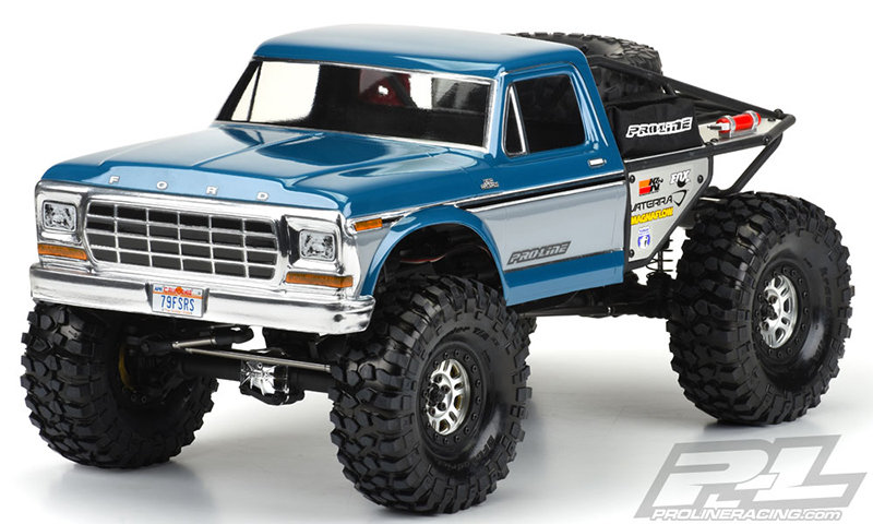 Proline 1979 Ford F-150 Clear Body for Ascender