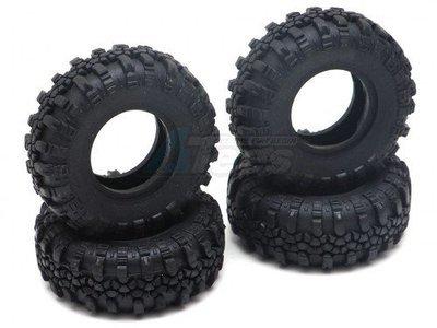 RGT Swamper Tire Set for ECX Barrage/ FTX Outback/ RGT Adventurer