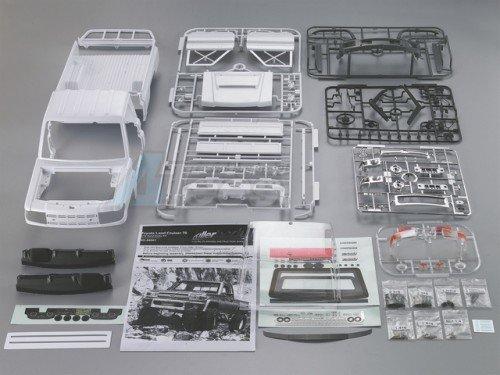Killerbody 1/10 Toyota Land Cruiser LC70 Hard Body Set 313mm Official Licensed Version 2